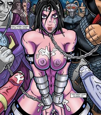Distressed Damsels 1 - Wonder Woman comic porn sex 009