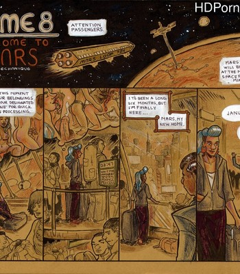 Porn Comics - Dome 8 – Welcome To Mars