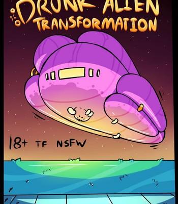 Porn Comics - Drunk Alien Transformation