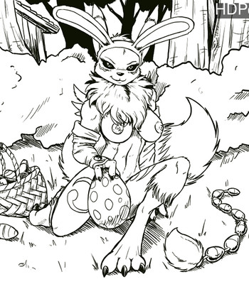 Porn Comics - Easter Renamon