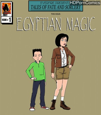Porn Comics - Egyptian Magic 1