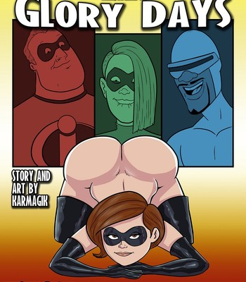 Porn Comics - Elastigirl In Glory Days