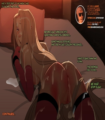 Elsa's Dungeon 2 comic porn