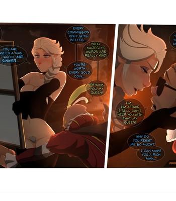 Elsa's Dungeon 3 comic porn sex 003
