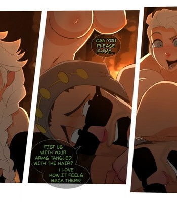 Elsa's Dungeon 3 comic porn sex 023