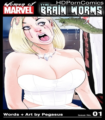 Porn Comics - Emma Frost VS The Brain Worms