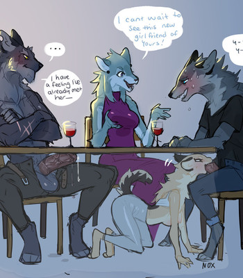 Dinner comic porn sex 002