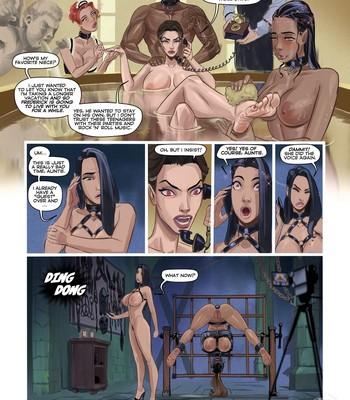 Values 1 – An Unexpected Guest comic porn sex 002