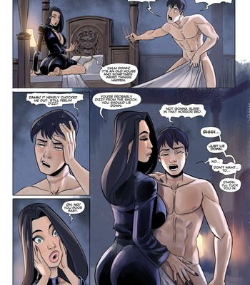 Family Values 1 - An Unexpected Guest comic porn sex 010
