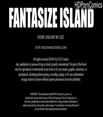 Fantasize Island 1 comic porn