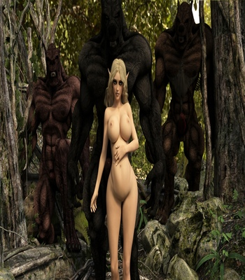 Fantasy Scene – Elf With Wolfman comic porn