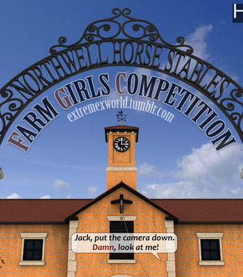 Porn Comics - Farm Girls Competition 1