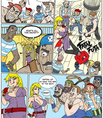 Porn Comics - Fatal Futa – B Jenet VS Rock
