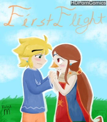 Porn Comics - First Flight