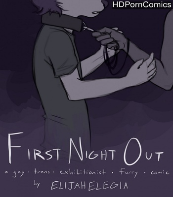 Porn Comics - First Night Out