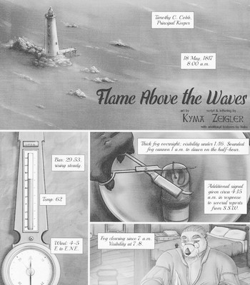 Porn Comics - Flame Above The Waves