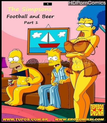 Porn Comics - Football And Beer 1