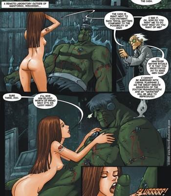 Porn Comics - Frankenstein's Bride