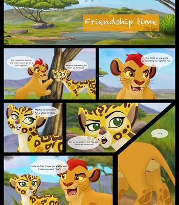 Porn Comics - Friendship Time