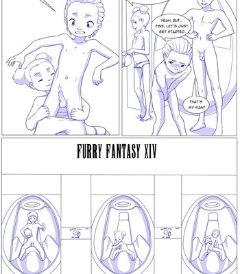 Furry Fantasy XIV 3 comic porn sex 008