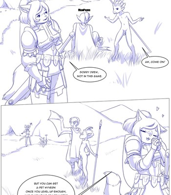 Furry Fantasy XIV 3 comic porn sex 015