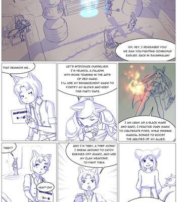 Furry Fantasy XIV 3 comic porn sex 023