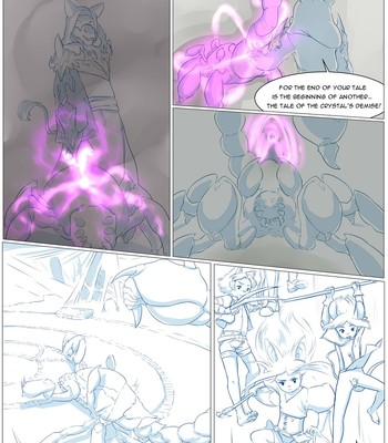 Furry Fantasy XIV 3 comic porn sex 036