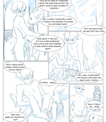 Furry Fantasy XIV 3 comic porn sex 053