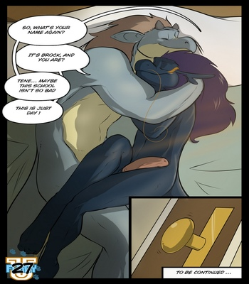 Furry U comic porn