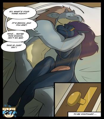 Furry U comic porn