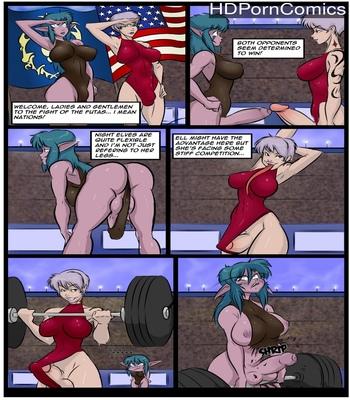 Porn Comics - Futalympics