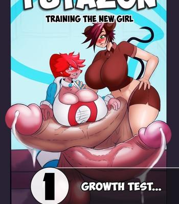Porn Comics - Futazon – Training The New Girl 1 – Growth Test