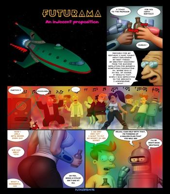 Futurama – An Indecent Proposition comic porn sex 002