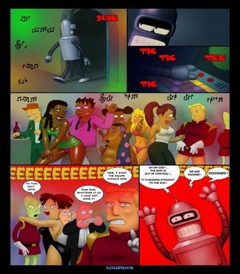 Futurama – An Indecent Proposition comic porn sex 003