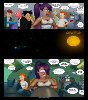 Futurama – An Indecent Proposition comic porn sex 004