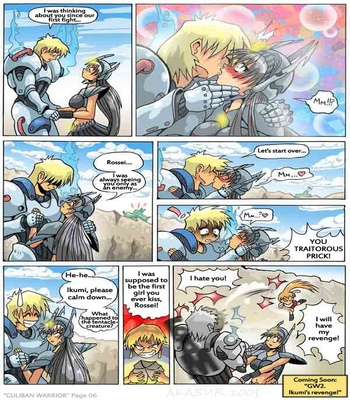 G.U.L.I.B.A.N. Warrior 1 comic porn