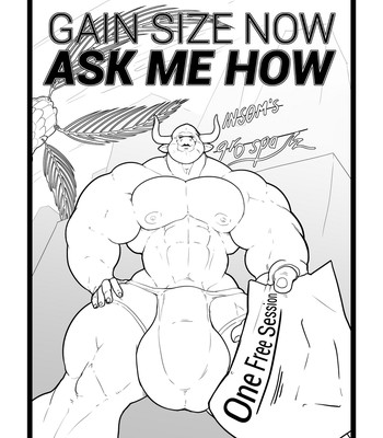Porn Comics - Gain Size Now, Ask Me How