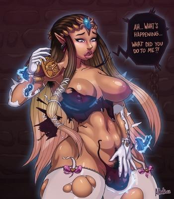 Ganon's Bitch comic porn sex 002