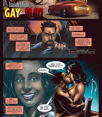 Porn Comics - Gay For Slay