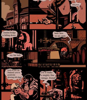 Porn Comics - Gay Gangster Ghosts 3