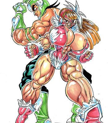 Genkai Toppa Wrestling 12 comic porn sex 035