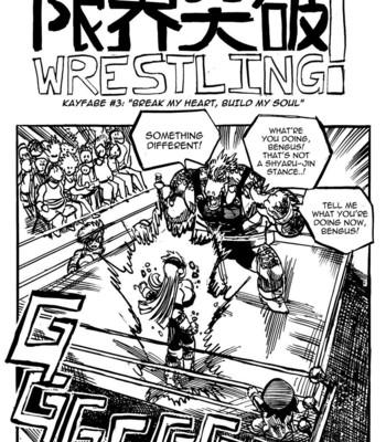 Porn Comics - Genkai Toppa Wrestling 3