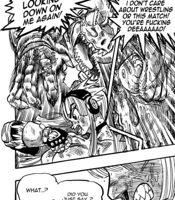 Genkai Toppa Wrestling 3 comic porn sex 020