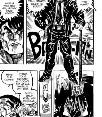 Genkai Toppa Wrestling 4 comic porn sex 021