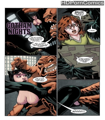 Porn Comics - Gotham Nights