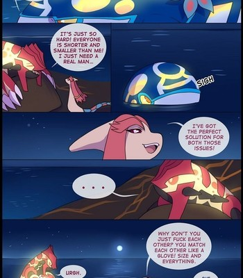 Groudon x Kyogre comic porn sex 001