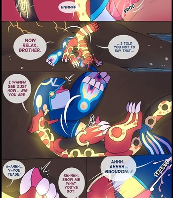Groudon x Kyogre comic porn sex 004