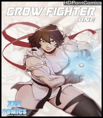 Grow Fighter 1 comic porn thumbnail 001