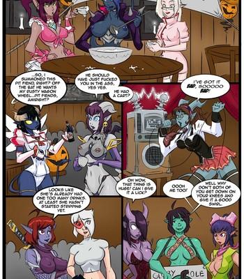 Porn Comics - Halloween Havoc
