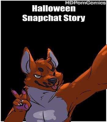 Porn Comics - Halloween Snapchat Story